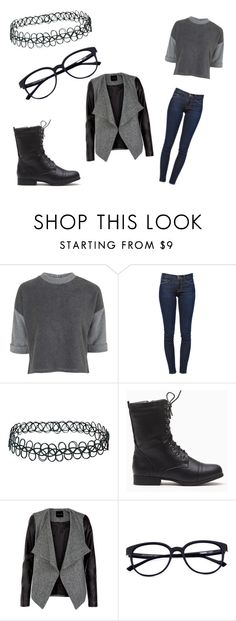 """""""Untitled #18"""" by lialil on Polyvore featuring Topshop and Frame Denim"""