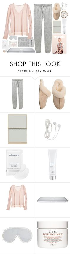 """""""Rainy Day"""" by e-rose-t ❤ liked on Polyvore featuring A.P.C., UGG Australia, Elemis, Kerstin Florian, Marc by Marc Jacobs, Calypso St. Barth, Harrods and Fresh"""