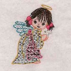 Free embroidery design every day. Embroidery Forums, Library and Sets Embroidery Designs, Free, Angels, Bruges Lace