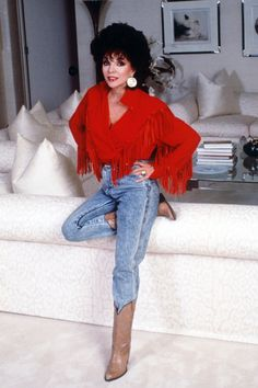 Joan Collins's Best Dynasty Lines And Confesses To Being A Taylor Swift Fan As She Unveils Beauty Range | News | Grazia Daily