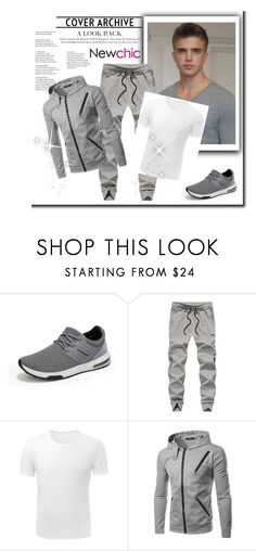 """""""NEWCHIC 14"""" by mersy-123 ❤ liked on Polyvore featuring men's fashion and menswear"""