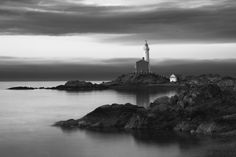 Lighthouse in black and white #photographytalk #blackandwhitephotography