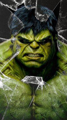 Hulk Iphone 6 Plus Wallpaper Hulk Marvel, Hulk Avengers, Marvel Art, Marvel Heroes, Marvel Comics, Hulk Tattoo, Hulk Movie, Marvel Paintings, Hulk Art