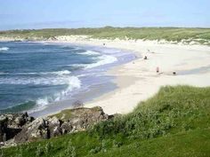 This could be a beach in southern hemisphere but no, this is the Isle of Tyree in Scotland