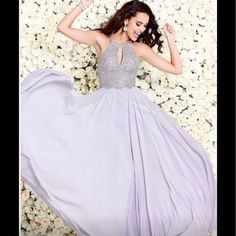 Designer One Of A Kind Gown. Size 6. Nwt