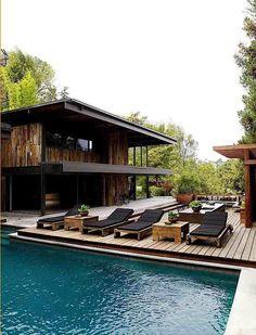 commune design / derek mattison residence, nichols canyon