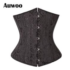 Sexy Gothic Lingerie Bustiers Black Satin Embroidered Corset Underbust Corsets Plus Size Corpete Espartilho $18.53   => Save up to 60% and Free Shipping => Order Now! #fashion #woman #shop #diy  http://www.clothesgroup.net/product/sexy-gothic-lingerie-bustiers-black-satin-embroidered-corset-underbust-corsets-plus-size-corpete-espartilho/