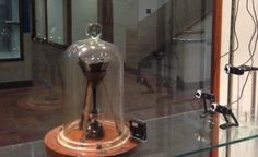The Queensland Pitch Drop Experiment (c. 1927) to demonstrate that solid materials can flow like liquids. The ninth drop has finally collided with the eight drop after 13 years.