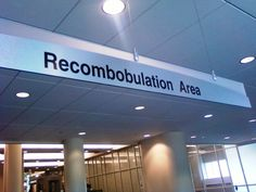 Recombobulation is a great word