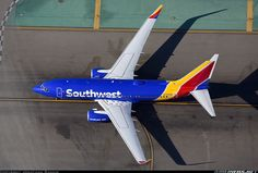Wearing her new Livery - Photo taken at Los Angeles - International (LAX / KLAX) in California, USA on October Southwest Airlines, Military Aircraft, Planes, Awesome, Airplanes, Plane