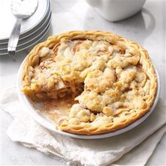 Apple Crumble Pie Recipe from Taste of Home