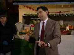 Mr. Bean conducts a Christmas orchestra. So. Funny.