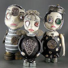 Steampunk Angel Dolls