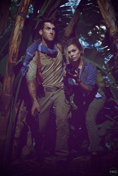 Nathan Drake & Elena - Uncharted cosplay