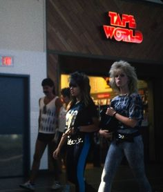 images of malls of the 80's | at the mall in the 80s