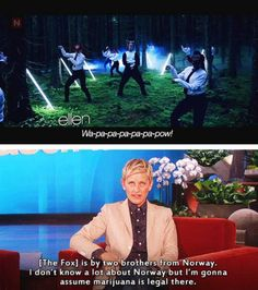 Oh Ellen.... I love you