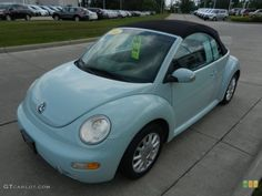 My dream car.... will get one some day...    Aquarius Blue 2004 Volkswagen New Beetle GLS Convertible Exterior Photo #66548166