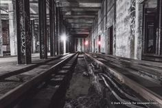 76th Street-Subway Station-Abandoned-Unused-Ozone Park-Queens-A Line-Dark Cyanide-NYC