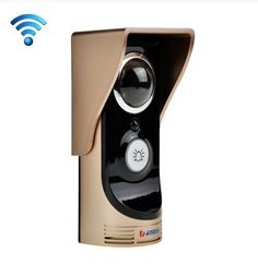Wireless Video Wifi Doordell with Android ISO Phone APP Remote Video IR Doorbell Motion Detection Smart Home Security, Security Cameras For Home, App Remote, Intercom, Camera Phone, Night Vision, Wifi, Android