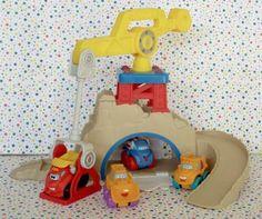 #Playskool #Chuck Fold-n-Go #Construction Quarry Playset #BoysToys #Christmas #teamsellit