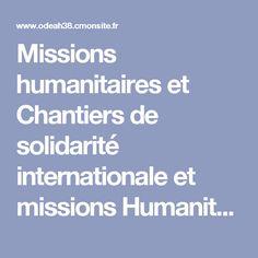 Missions humanitaires et Chantiers de solidarité internationale et missions Humanitaires au Togo - odeah38.cmonsite.fr