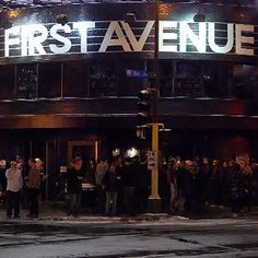 End the night with some dancing and drinks at First Avenue; while waiting in line to get in, check out the stars of all the awesome artists who have played here!