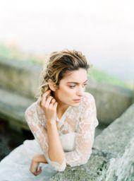 Organic Seaside Wedding Inspiration - Style Me Pretty