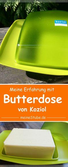 Koziol Butterdose Rio senfgrün, schickes Design und meine Erfahrung – Meine Stube #Butterdose #Butterbehälter