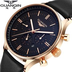2015 Watches Men Luxury Top Brand GUANQIN Fashion Men's Quartz Watch sport casual Wristwatch relogio masculino relojes goldblack Description: Brand name:Guanqin Model number:GQ12003 Movement:quartz watch Band Length:24cm Dial diameter:4.05cm Feature:water resist Package Content: 1.a pcs Guanqin watch 2.beautiful packing box -We accept payment via AliPay ONLY. -All major credit cards are accepted through secure payment ...