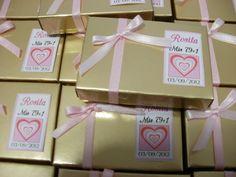 bombones de chocolate para el cumple de Rosita