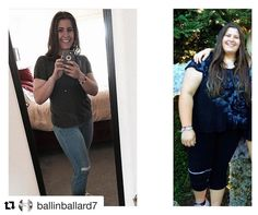 Today's InspirWeighTion from ✨TheWeighWeWere.com✨ {Link in bio} via REPOST @ballinballard7 ・・・ I think that what a lot of people mistake is why I decided to make a change. I didn't change because I hated myself, or the person that I was a year ago. Yes I disliked my physical appearance, and a few other aspects- some people do, and some do not. It all depends on you. Although it often times is hard because of society- you SHOULD feel beautiful in your own skin. I didn't, and I did not lik...