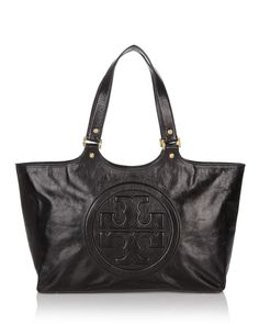 Tory Burch Burch Bombe Leather Tote | Bloomingdale's