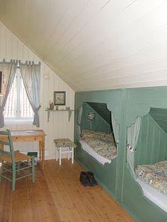 Husmannsplassen i Hidlesundet: Det grønne rommet