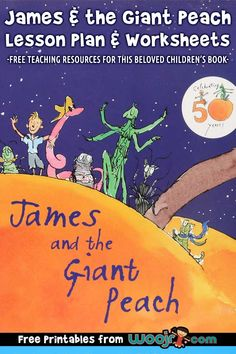 James and the Giant Peach - Lesson Plan complete with language arts printables: a vocabulary worksheet and a reading comprehension quiz. Teacher Worksheets, Vocabulary Worksheets, Vocabulary Cards, Free Teaching Resources, Teacher Resources, Homeschooling Resources, Clouds For Kids, Learning Activities, Activities For Kids