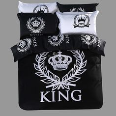 100% cotton Home Textiles,  Black&white  4pcs bedding sets, bed linen, bed sheet + duvet cover +Pillowcase     Tag a friend who would love this!     FREE Shipping Worldwide     Get it here ---> http://onlineshopping.fashiongarments.biz/products/100-cotton-home-textiles-blackwhite-4pcs-bedding-sets-bed-linen-bed-sheet-duvet-cover-pillowcase/