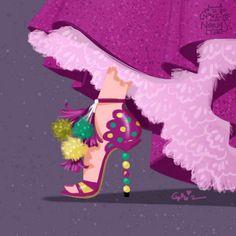 迪士尼《反派們的高跟鞋》為什麼連反派高跟鞋都這麼美~ - 圖片10