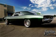 Dodge Charger by West Coast Customs.Bad to the bone! Dodge Charger For Sale, 1968 Dodge Charger, Hot Rods, Pinstriping, My Dream Car, Dream Cars, West Coast Customs, Automobile, Performance Cars