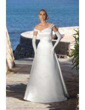 V-neck Designes A-Linie Brautkleider 2014