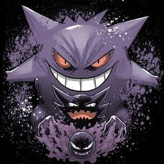 Despierta el fantasma que levas en tu interior! . #ghastly #haunter #gengar…