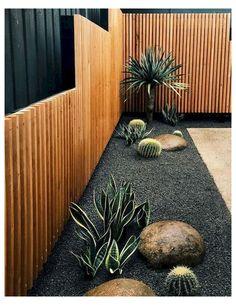 Modern Japanese Garden, Japanese Garden Landscape, Backyard Garden Landscape, Backyard Landscaping, Backyard Ideas, Garden Art, Landscaping Ideas, Patio Fence, Backyard Designs
