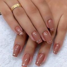 How to choose your fake nails? - My Nails Glittery Nails, Cute Acrylic Nails, Pink Nails, My Nails, Chic Nails, Stylish Nails, Swag Nails, Grunge Nails, Nagellack Trends