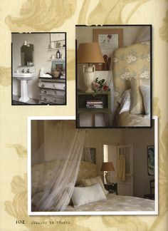"""Photo from Kathryn M. Ireland's book """"Summers In France. Tuscan House, Inspiration Boards, France, Bedroom, Book, Bedrooms, Book Illustrations, Books, Dorm Room"""