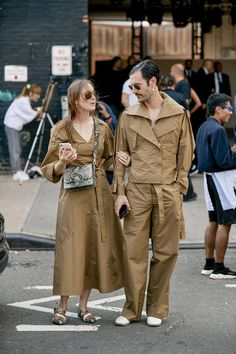Attendees at New York Fashion Week Spring 2020 - Street Fashion