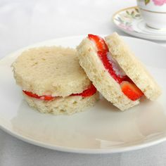 I have been wanting to make these or something like them for a long time. I saw a photo somewhere online that I thought was of strawberry sandwiches, but you couldn't tell for sure and there were no words, just a photo. Unfortunately, I can't find that photo, but it got me thinking about strawberry … … Continue reading →