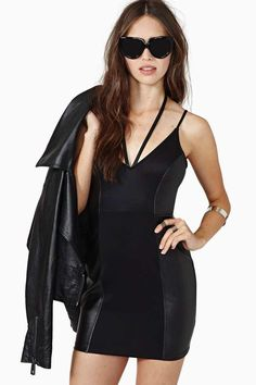 Nasty Gal Night Watch Dress