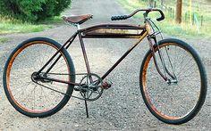 Bad Ol Antique Triumph Excelsior Rat Rod Motorbike Bicycle $1500