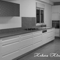 מטבח לבן מודרני #מטבחים