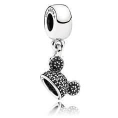 Mickey Mouse ''Mickey Ear Hat'' Charm by PANDORA $60