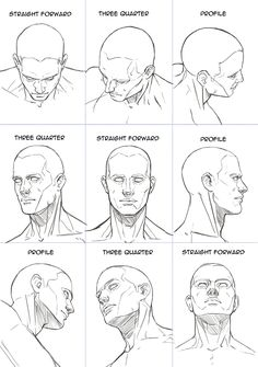 Human Head Sheet by Hoelho on DeviantArt - -You can find Deviantart and more on our website.Human Head Sheet by Hoelho on DeviantArt - - Human Figure Drawing, Figure Drawing Reference, Anatomy Reference, Art Reference Poses, Human Face Drawing, Human Face Sketch, How To Draw Human, Anatomy Drawing Practice, How To Draw Necks