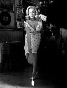 Marilyn Monroe by Elliott Erwitt, Reno, Nevada, 1960.